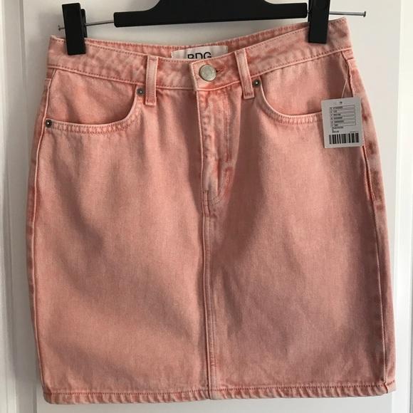 999f6dd1db BDG Jeans   Pastel Pink Jean Skirt Nwt   Poshmark
